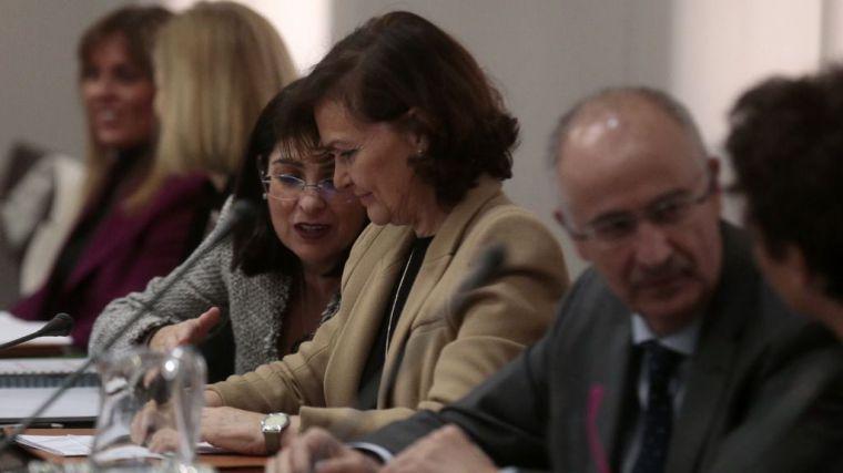 Calvo, sobre la relación con Podemos: 'Cumplimos el pacto cada día'
