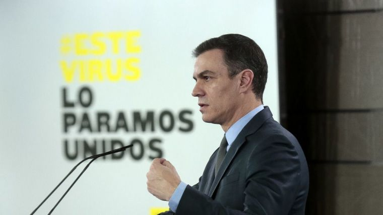 Sánchez obliga a 'quedarse en casa en las próximas dos semanas' para todos los trabajos no esenciales