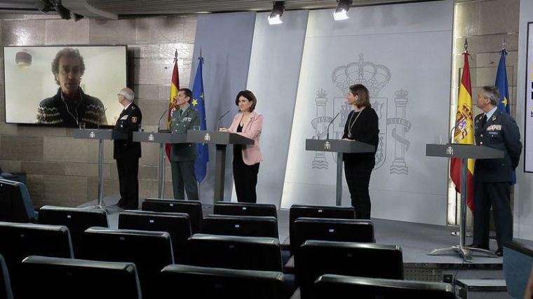 Sanidad cree que España ha llegado al pico y 'parece que estamos descendiendo'