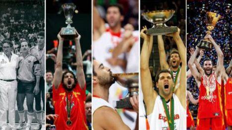 De Ginebra 1935 a Pekín 2019: los 19 podios de la Selección Masculina de Baloncesto