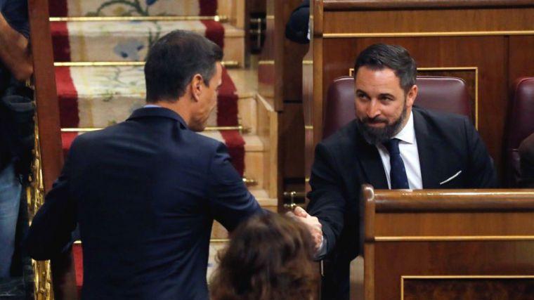 El PSOE reclama 10.000 euros a Santiago Abascal para evitar una querella por injurias y calumnias