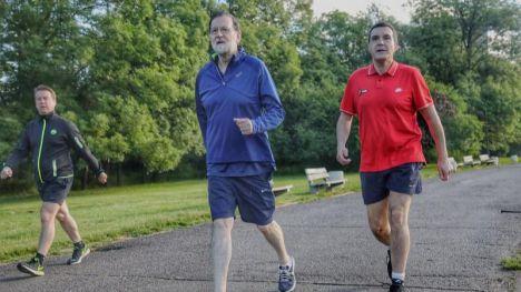 Rajoy podrá pasear una hora junto a su hijo pequeño sin quebrantar el estado de alarma