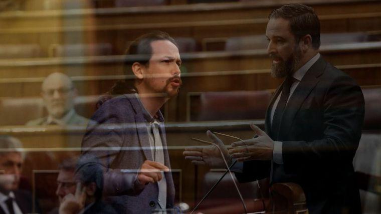 Iglesias se defiende de los ataques de Vox en el Congreso llamándoles 'parásitos'