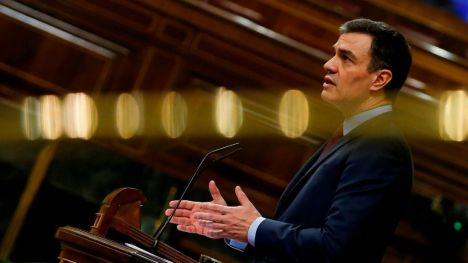 Pedro Sánchez se dirige a los socialistas con motivo del 141 aniversario de la fundación del PSOE