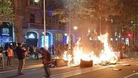La violencia nacionalista en Cataluña se multiplicó por cinco en la última parte de 2019