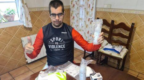 Unos 150 deportistas paralímpicos reciben un kit de seguridad contra el coronavirus