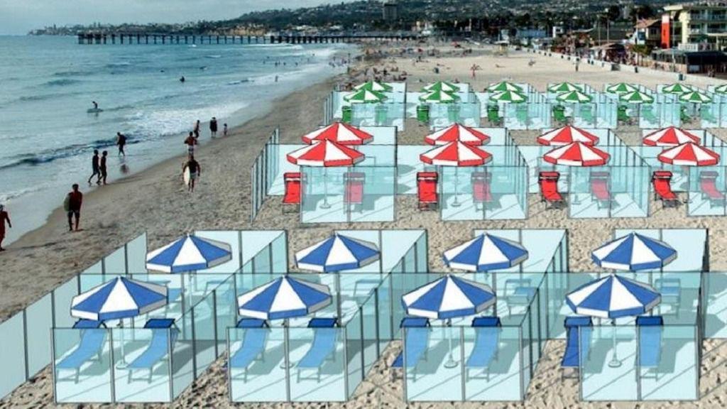 La 'fase 2' permite el uso de piscinas y playas con medidas de seguridad