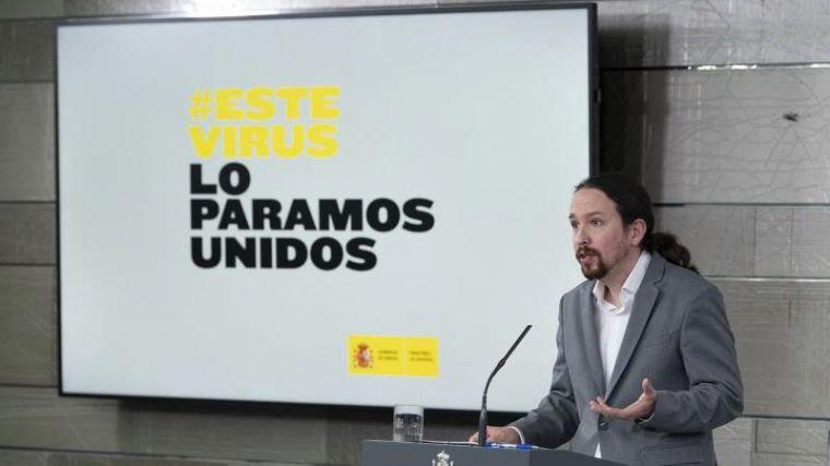Pablo Iglesias acusa al PP de 'hacer oposición' a los epidemiólogos para atacar al Gobierno