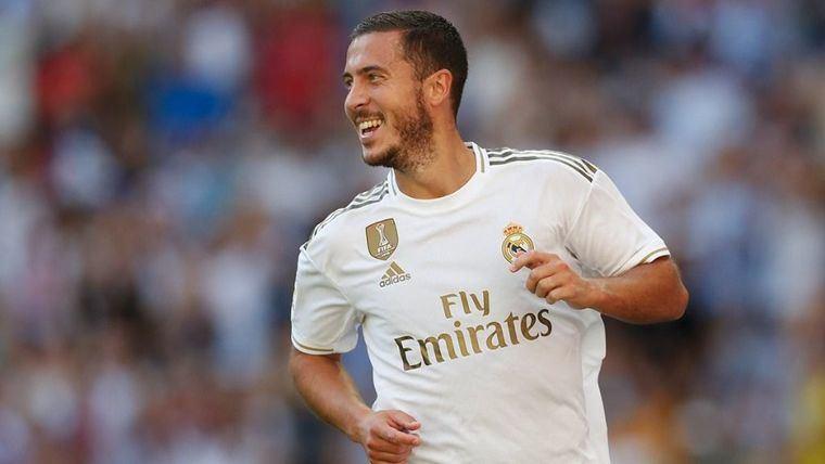 Roberto Martínez cree que Eden Hazard 'va a hacer historia' en el Real Madrid