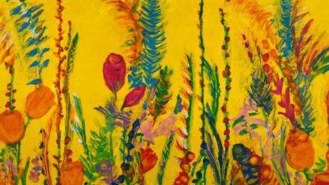 'Pintura a ciegas' en homenaje a todas las víctimas del coronavirus