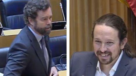 'Cierre al salir, señoría', la comentada frase de Iglesias a Espinosa de los Monteros tras abandonar la comisión de reconstrucción