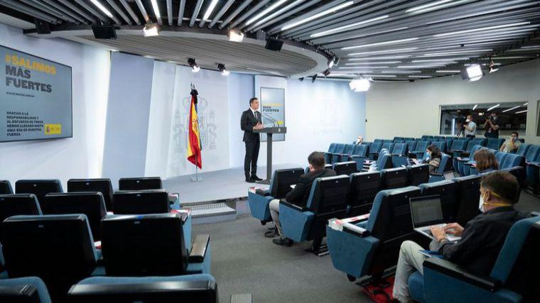 Pedro Sánchez lanza su discurso más duro hasta la fecha en defensa de Fernando Simón y Salvador Illa