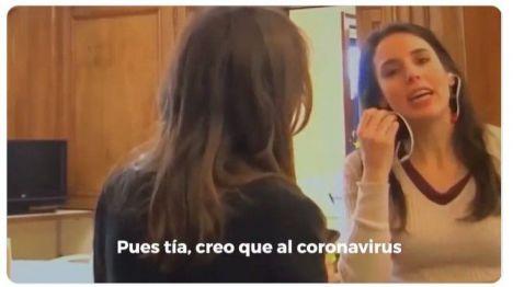Filtran un vídeo de Irene Montero el 9-M: