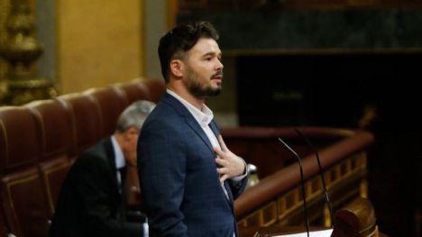 Rufián pide al Gobierno sacar a Ciudadanos de la ecuación