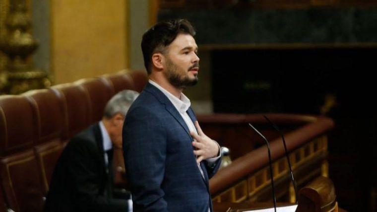 Rufián pide al Gobierno sacar a Ciudadanos de la ecuación 'para frenar a la derecha'