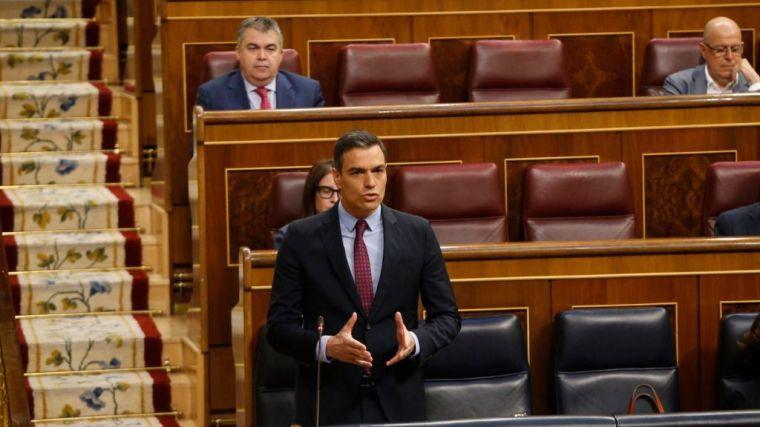 Sánchez acusa a Casado de 'utilizar el virus para derrocar al Gobierno'