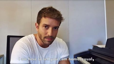 Pablo Alborán confiesa su homosexualidad: 'Necesito ser un poco más feliz de lo que ya era'