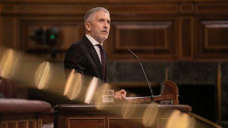 Marlaska destaca que la Guardia Civil es tan leal a la democracia que Franco quiso disolverla
