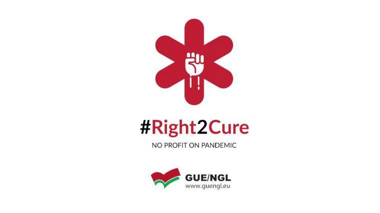 Unidas Podemos se suma a la campaña de la plataforma #Right2Cure
