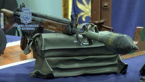 La Policía desarticula una de las mayores redes criminales dedicada al tráfico ilícito de armas en España