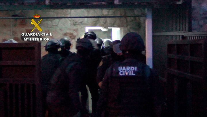 La Guardia Civil desarticula un grupo criminal itinerante dedicado a robos violentos en casas habitadas