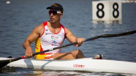 Juan Antonio Valle, piragüista paralímpico: