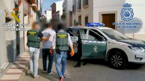 Desarticulada una peligrosa organización criminal dedicada al tráfico de hachís a nivel internacional