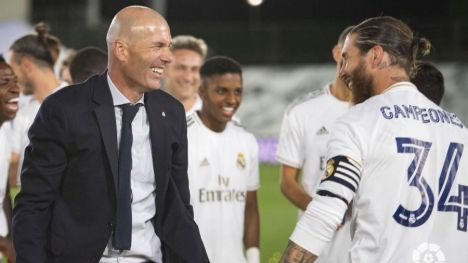 El Real Madrid se proclama campeón de LaLiga