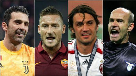 Los futbolistas más veteranos de la Champions League