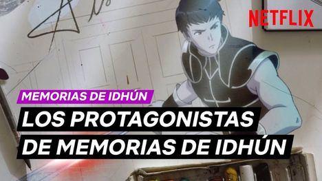 Preparaos Idhunitas: Netflix muestra a los personajes de su primer anime español