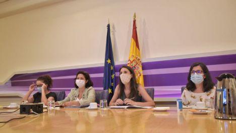 Irene Montero aclara que la 'huida' de Juan Carlos I 'no es una decisión que haya tomado el Gobierno de coalición'