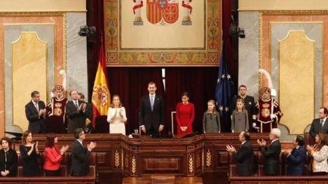 Unidas Podemos quiere que Felipe VI explique en el Congreso la marcha de su padre