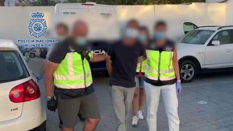 La Policía Nacional detiene en Huelva a uno de los fugitivos más buscados de Europa