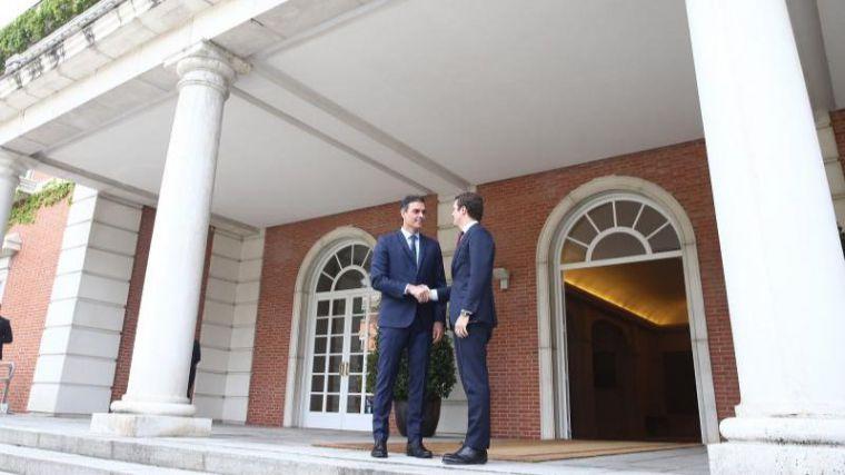 Sánchez recibirá a Casado el próximo miércoles en La Moncloa