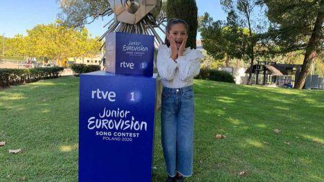 Conoce a la representante española de Eurovisión Junior 2020