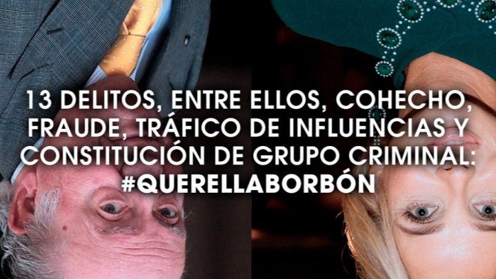 La querella del PCE e IU para investigar a Juan Carlos de Borbón echa a andar