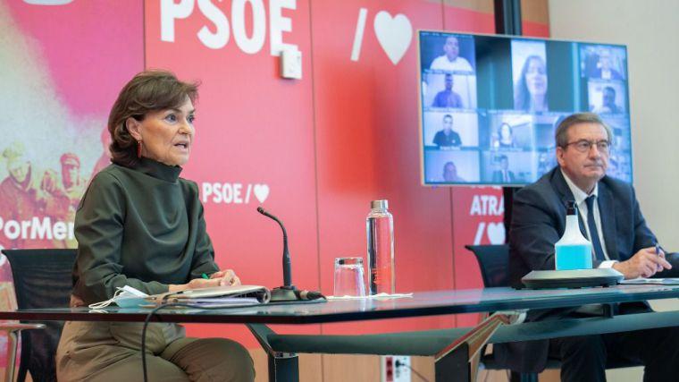 Calvo pone en valor 'la memoria y la dignidad de aquellos que lucharon por la democracia y contra el fascismo'