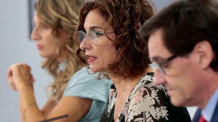 Montero anuncia que el proyecto de cuentas públicas está 'muy avanzado'