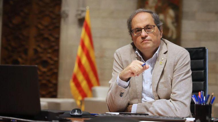 Castells ve 'exagerado' inhabilitar a Torra