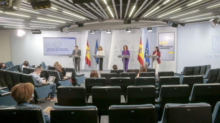 El Gobierno aprueba la extensión de los ERTE y las ayudas a autónomos hasta el 31 de enero de 2021