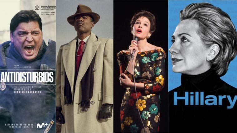 'Antidisturbios', 'Judy' o 'Invisibles' entre los estrenos de octubre de Movistar+