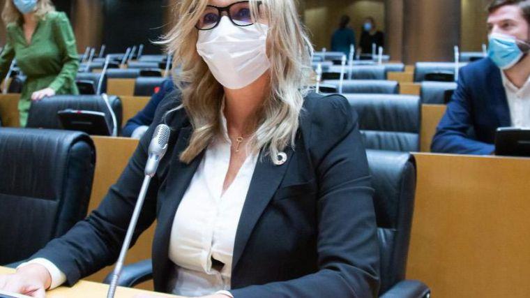 Ana Prieto exige a los populares 'patriotismo útil' y que 'dejen de politizar la pandemia'