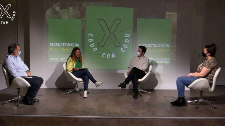 'Codo con codo' para 'reconstruir lo común y profundizar en la democracia'