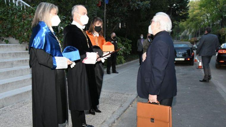 El ministro Castells preside la apertura de curso de la UNED