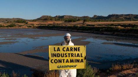 Greenpeace denuncia el incremento drástico de las emisiones del sector ganadero en España
