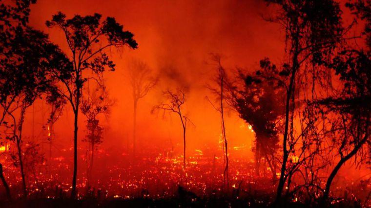 Brasil, Paraguay y Bolivia en llamas