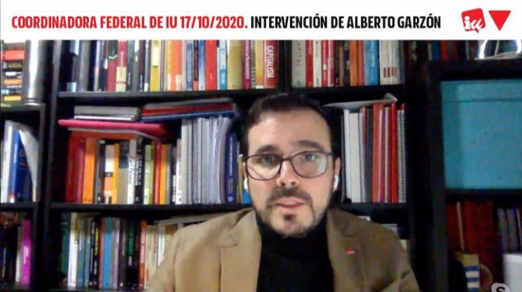 Garzón se muestra 'orgulloso' del actual Ejecutivo y llama a 'cuidar a la mayoría de la investidura'
