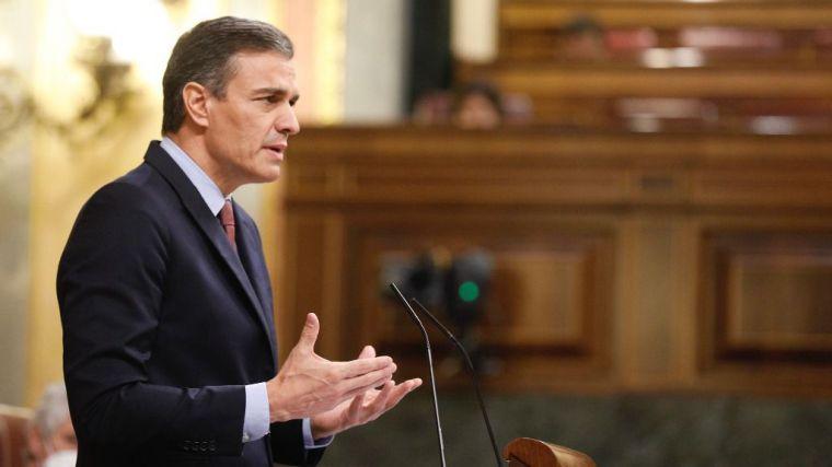 Sánchez acusa a Abascal de promover 'un acto de propaganda'