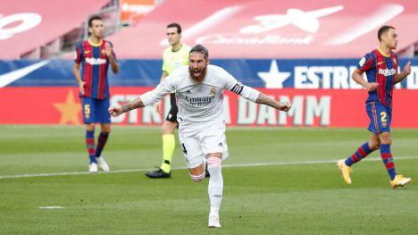 El Real Madrid vence al Barcelona en el Camp Nou