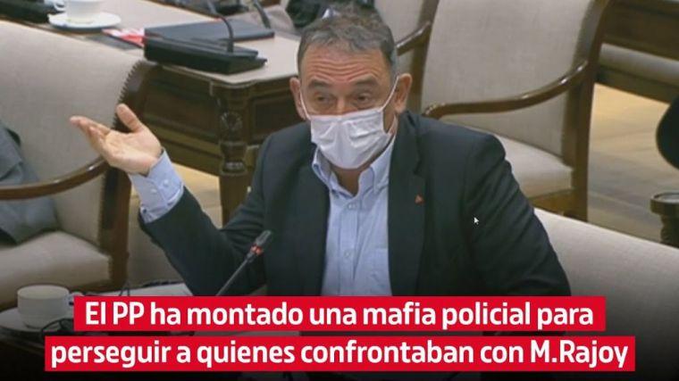 Santiago reclama una comisión de investigación y esclarecer la 'mafia policial' del PP